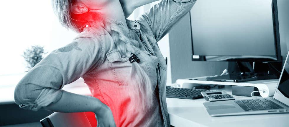 Verschiedene Arten von Rückenbeschwerden