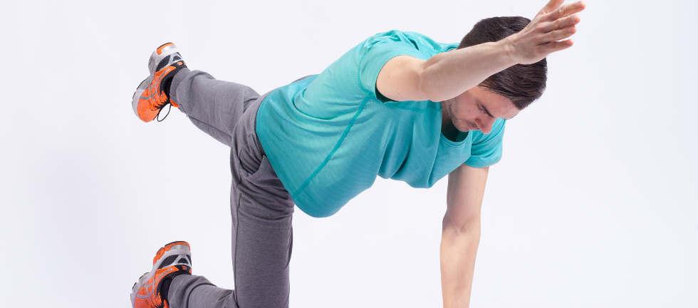 Rückenübungen auch zu Hause stärken den Rücken