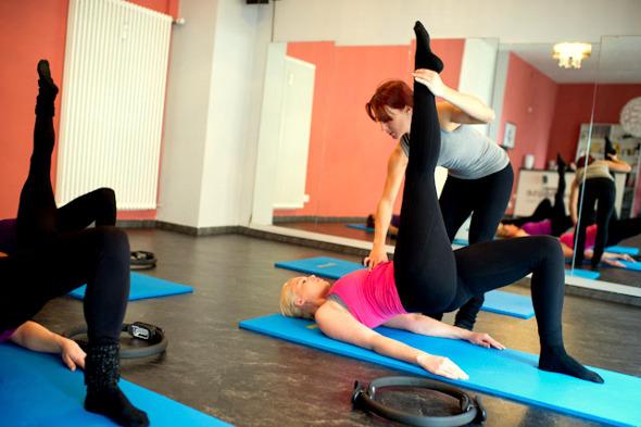 Powerhouse Karlsruhe - Impressionen Pilates und Rückengesundheit