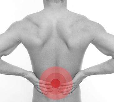 Lendenwirbelsyndrom mit Rückenbeschwerden