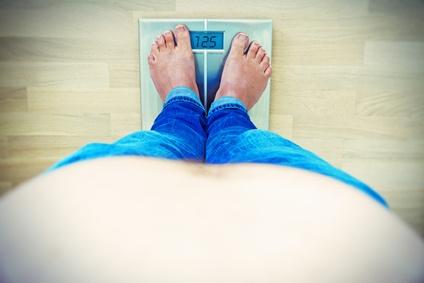 Rückenschmerzen durch Übergewicht