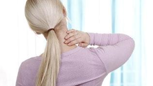 Halswirbelsyndrom verursacht Rückenbeschwerden