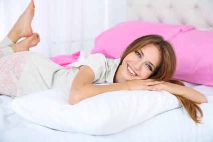 Kissen und Matratze sollten passend aufeinander abgestimmt sein