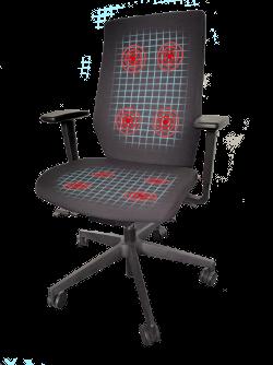 physiosense - Bürostuhl mit Sensoren - dynamisch und richtig sitzen