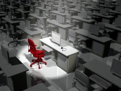 Stehtische regen zu mehr Dynamik im Büro an und helfen Rückenbeschwerden zu vermeiden