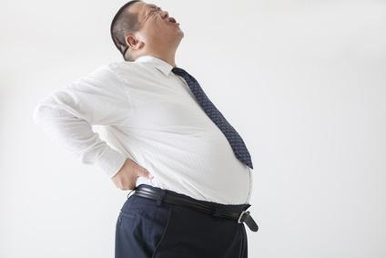Übergewicht kann Rückenbeschwerden verursachen