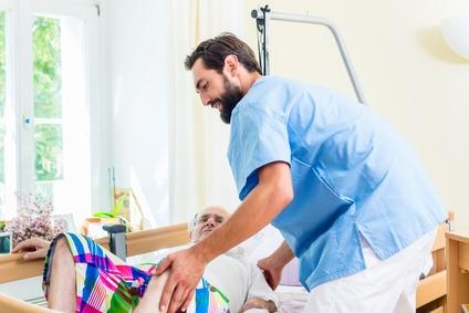 Pflegeberuf und Rückenschmerzen